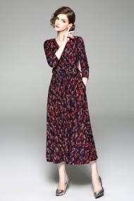 Rochie de zi Kaimilan QE627 rosie