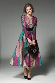 Rochie de zi Kaimilan QA226 Multicolora - els