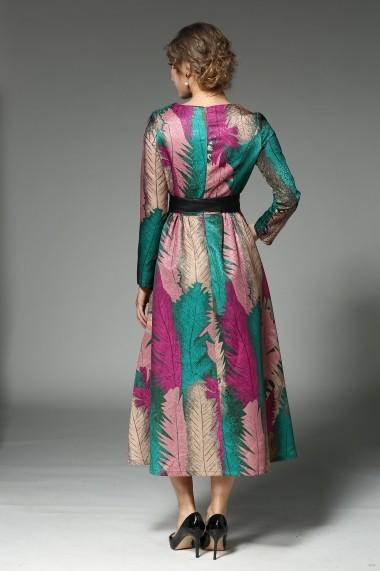 Rochie de zi Kaimilan QA226 Multicolor