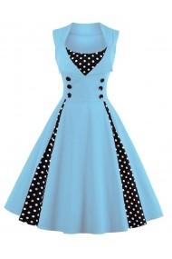 Rochie de seara Mixinni 1357 albastra