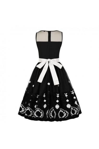 Rochie de seara Mixinni 1662 negru - els