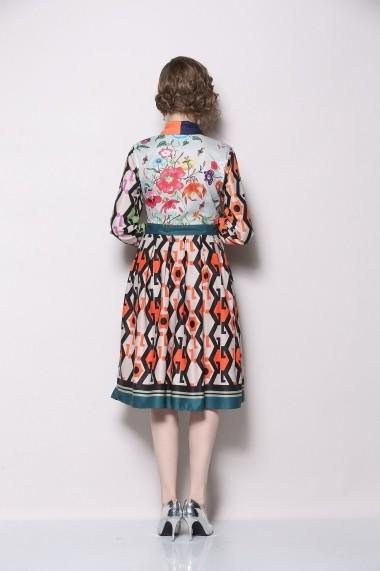 Rochie de zi Ferraga QK005 Multicolor - els