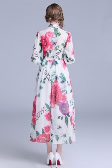 Rochie de zi Ferraga QH706 Multicolor - els