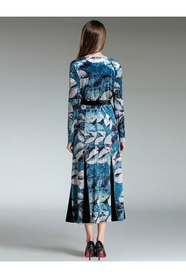 Rochie de zi Ferraga QE005 Multicolor - els