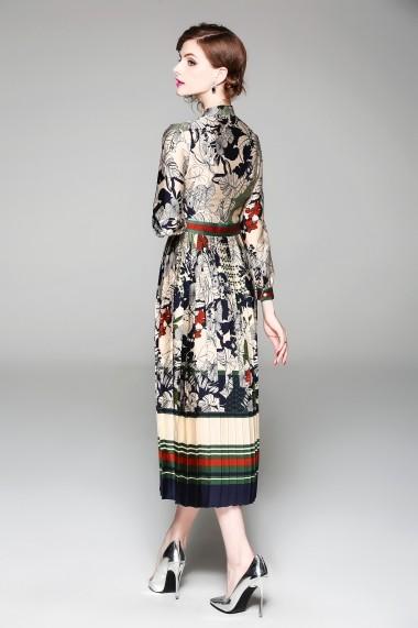 Rochie de zi Ferraga QE742 Multicolor - els