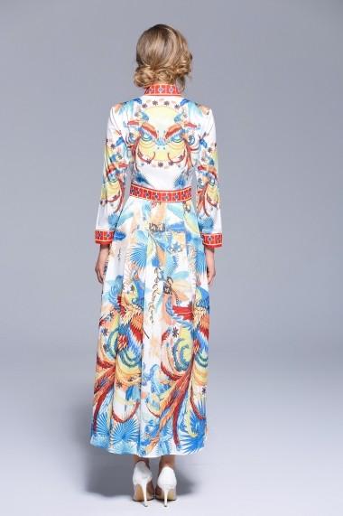 Rochie de zi Ferraga QH559 Multicolor - els
