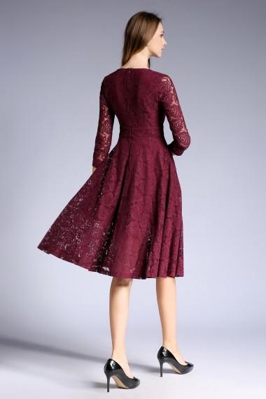 Rochie de zi Ferraga QE237 Violet - els