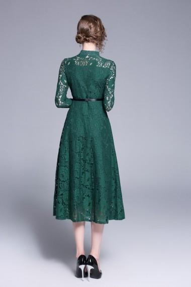 Rochie de zi Ferraga QK186 Verde - els