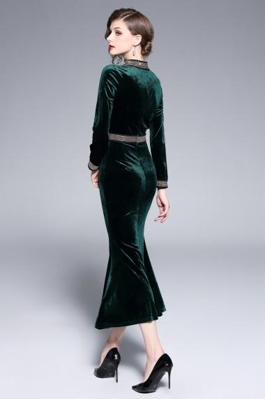 Rochie de seara Ferraga QK106 Verde - els