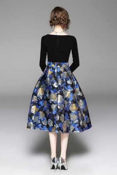 Rochie de seara Ferraga QK053 multicolora