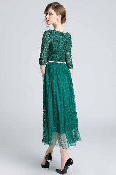 Rochie de seara Ferraga QK062 Verde - els