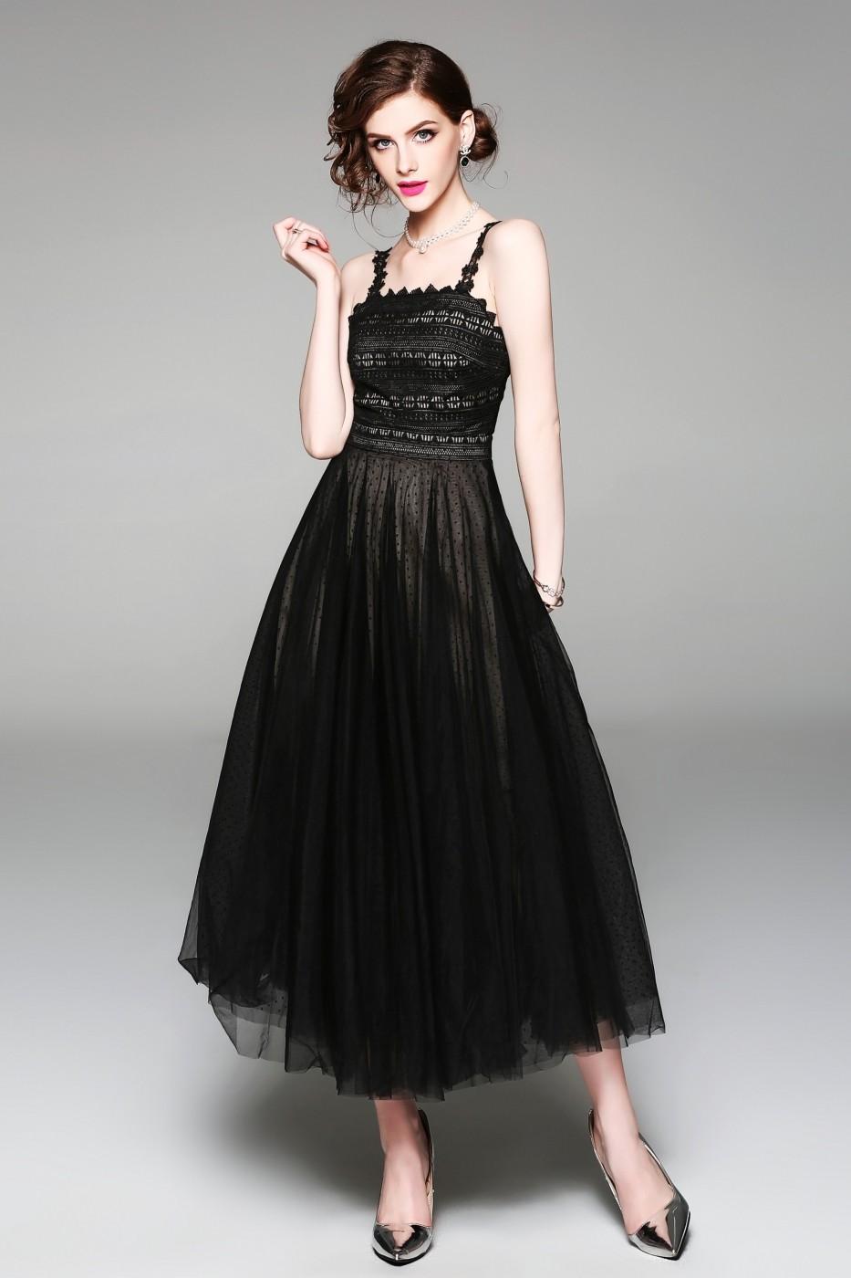 fd53519fdb Ferraga Estélyi ruha ATL-QH429_Black_els Fekete - FashionUP!