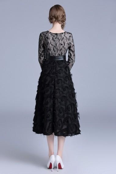 Rochie de seara Ferraga QH707 neagra - els