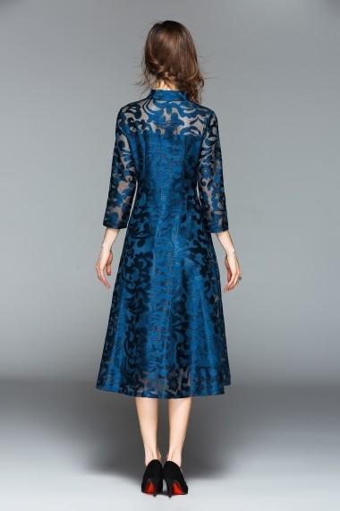 Rochie de seara Ferraga QE781 Albastru - els