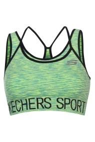 Bustiera sport Skechers 34166928 Verde - els