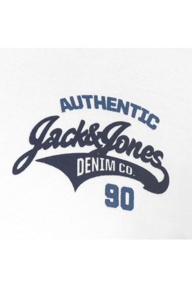 Tricou Polo Jack and Jones 54867601 Alb