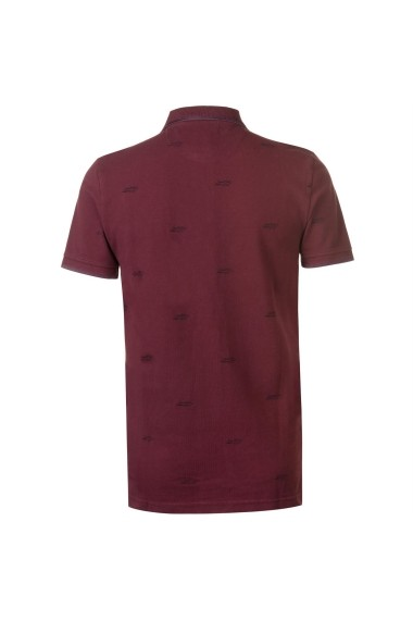 Tricou polo SoulCal 54824009 Bordo