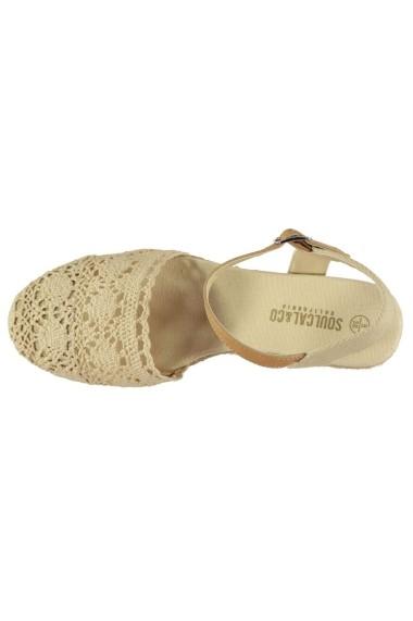 Sandale cu toc SoulCal 23138904 Crem
