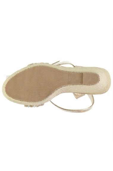 Sandale cu toc SoulCal 23136910 Auriu