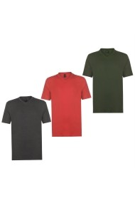 Set 3 tricouri Donnay 68902697 Multicolor