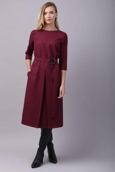 Rochie Couture de Marie cu pliu din lana - DREAM