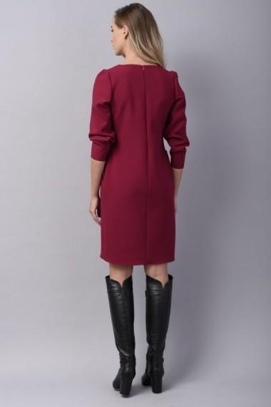 Rochie Couture de Marie dreapta burgundy WISH