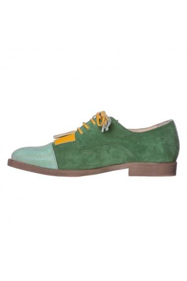 Pantofi Gelenium Luisa Fiore LFD-GELENIUM-04 verde