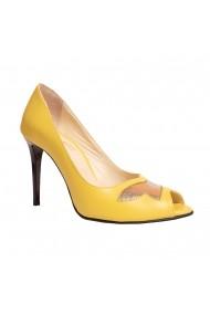 Pantofi cu toc Luisa Fiore LFD-FARLA-01 Galben