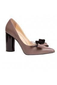 Pantofi piele Luisa Fiore LFD-GAROFANO-03 gri