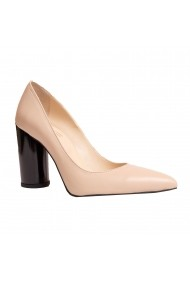 Pantofi piele Luisa Fiore LFD-ISA-04 Nude