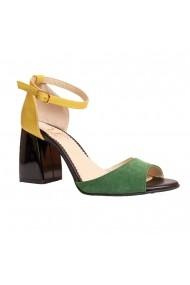 Sandale cu toc Luisa Fiore LFD-MARY-03 Multicolor