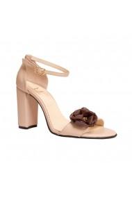 Sandale cu toc Luisa Fiore LFD-CILIEGIA-01 Nude