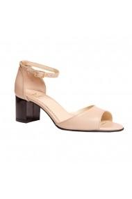 Sandale cu toc Luisa Fiore LFD-LAVANDA-02 Nude