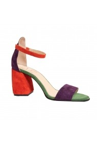 Sandale cu toc Luisa Fiore LFD-LIMONADE-O2 Multicolor
