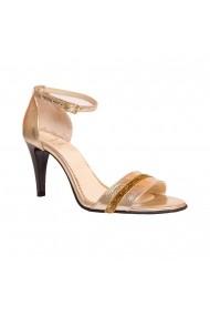 Sandale cu toc Luisa Fiore LFD-PESCA-01 Auriu