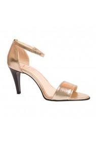 Sandale cu toc Luisa Fiore LFD-POLPETTE-01 auriu