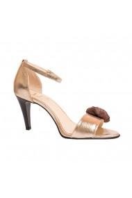 Sandale cu toc Luisa Fiore LFD-ZAMBILA-01 Auriu