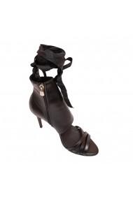Sandale cu toc Luisa Fiore LFD-VISINA-01 Negru