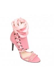 Sandale cu toc Luisa Fiore LFD-VISINA-02 roz