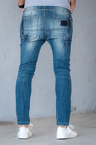 Jeansi slim Pause Jeans 420104 Albastru - els