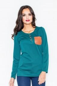 Bluza Figl M156 Verde