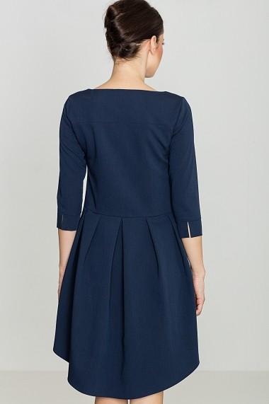 Rochie de zi Lenitif K141 Bleumarin