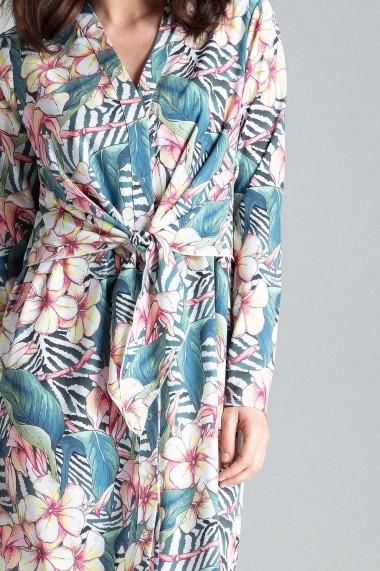 Rochie de zi Lenitif L031 Multicolora