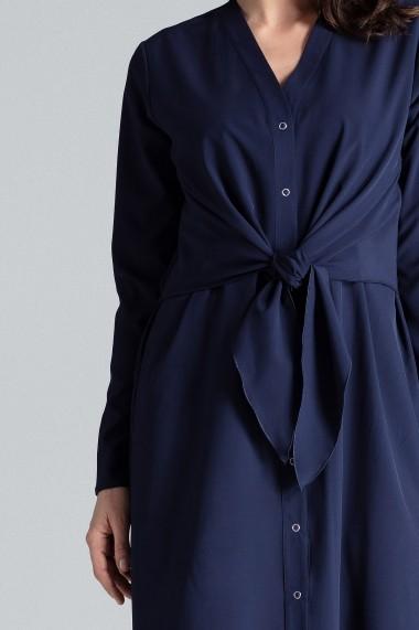 Rochie de zi Lenitif L031 Bleumarin