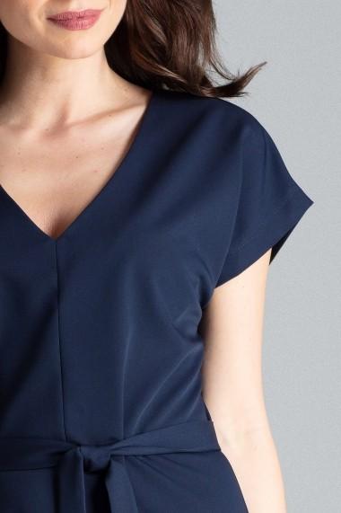 Rochie de zi Lenitif L032 Bleumarin