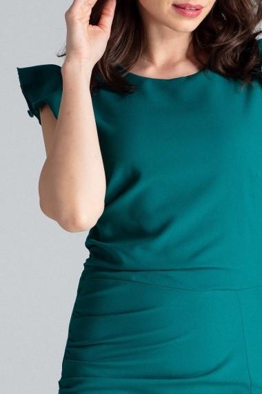 Rochie de zi Lenitif L034 Verde