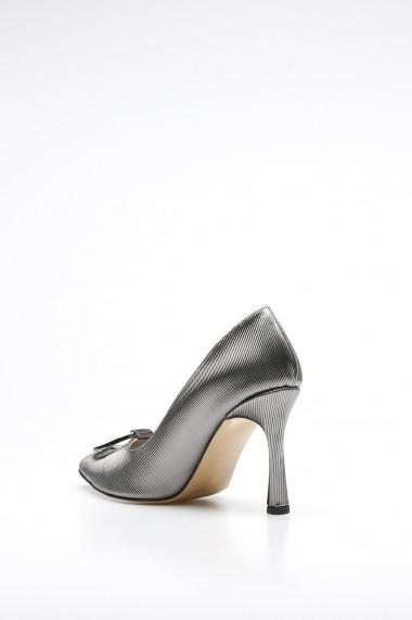 Pantofi cu toc Rovigo 386803 argintiu