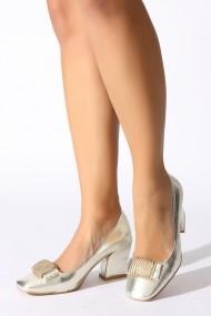 Pantofi cu toc Rovigo 386862 auriu - els