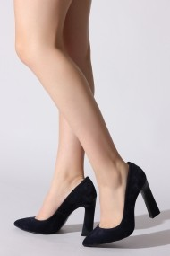 Pantofi cu toc Rovigo 20143256 bleumarin