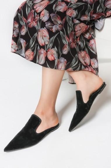 Papuci Rovigo 563016 negru